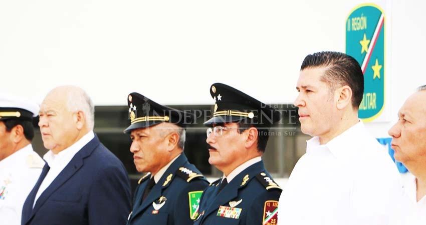 Presentan al nuevo comandante de la Tercera Zona Militar en BCS