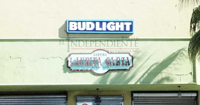 Suspenderán actividades de 3 bares de La Paz por violentar el reglamento municipal