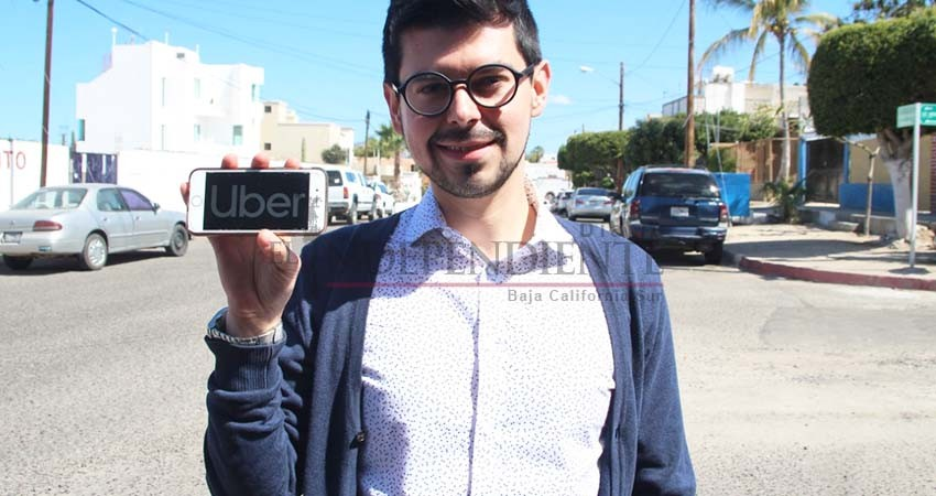 """Pide Uber una Ley de Movilidad """"moderna, innovadora e incluyente"""" para BCS"""