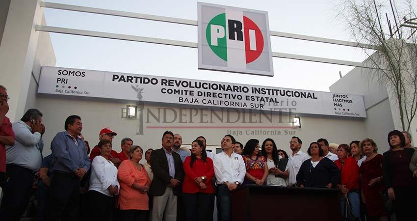 """Pasaron 6 años para inaugurar """"nueva"""" sede del PRI en BCS"""