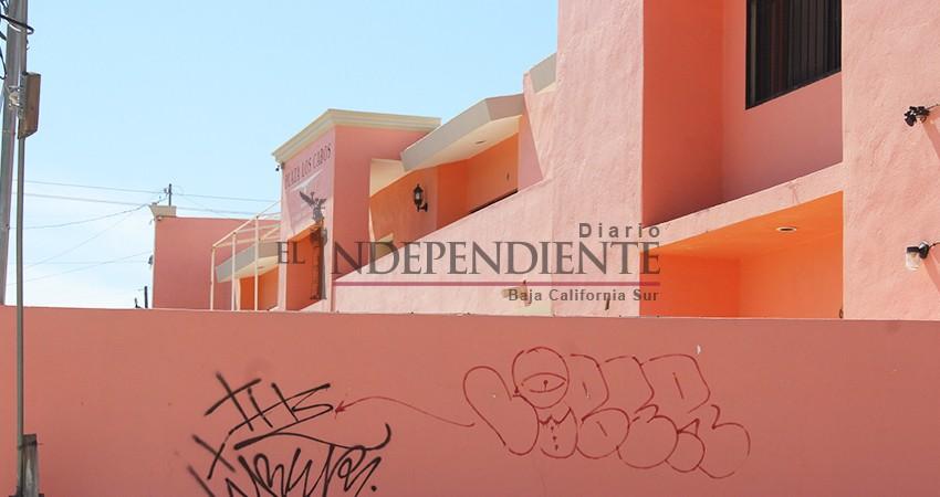 Graffiti, un problema que también afecta a comercios