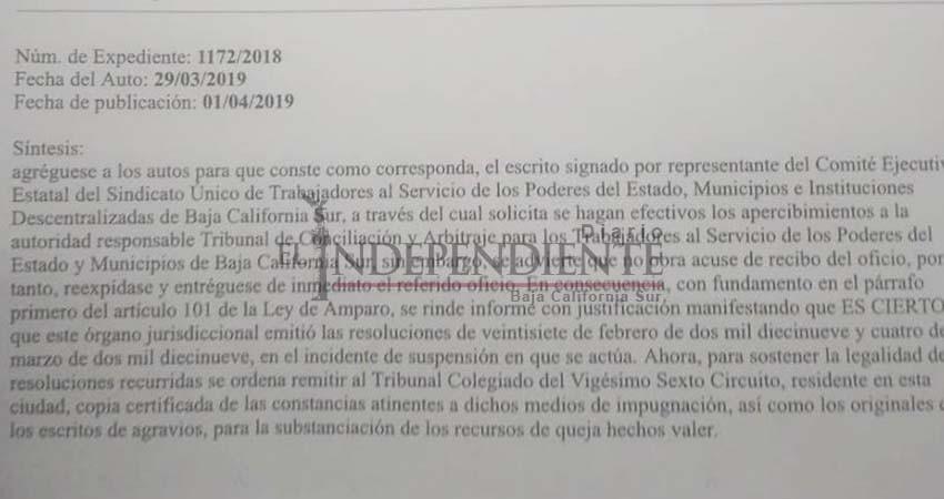 Pierde Valdez dirigencia sindical de La Paz en tribunales: Mauricio Higuera
