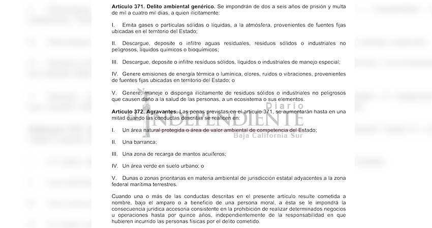 """""""Comete un delito el Alcalde de La Paz al permitir construcción en dunas"""": Abogado"""
