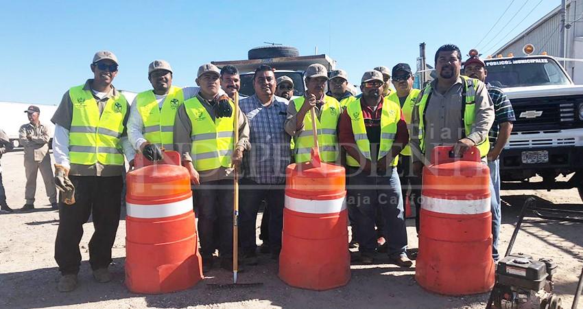 "Taparán 5 mil 600 ""baches"" en calles principales de La Paz"
