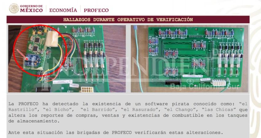 'El chango' o 'el rastrillo', este es el software que usan en gasolineras para robar: PROFECO