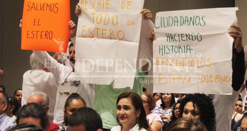 Nada que celebrar en Los Cabos con el ecocidio en el Estero, protestan ciudadanos