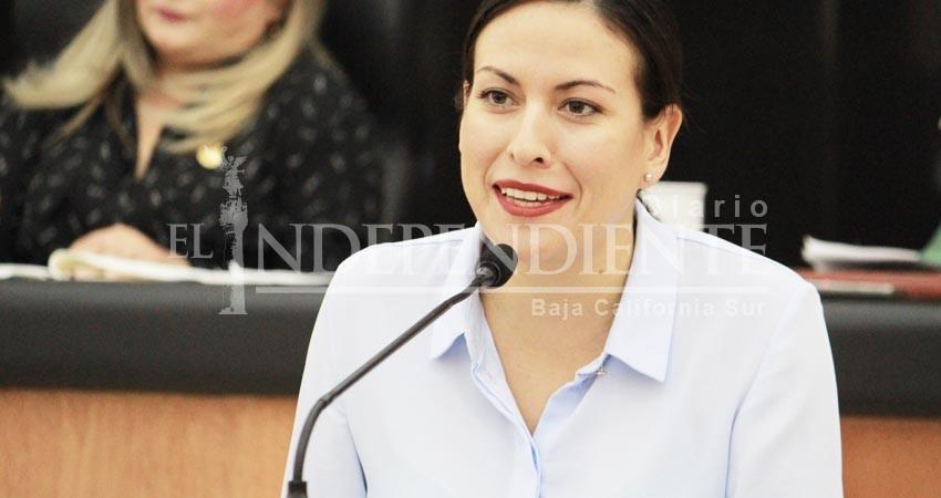 Implementar transporte accesible es facultad del gobierno BCS: Milena Quiroga