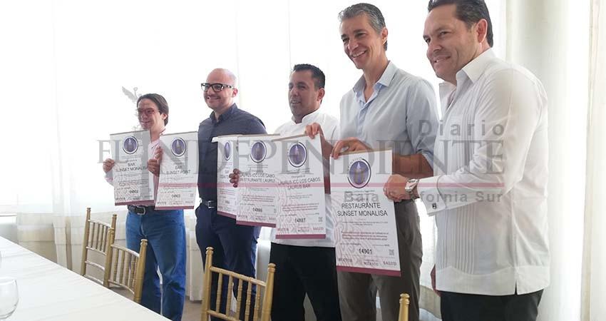 Los Cabos entre los destinos turísticos con más reconocimientos y certificaciones de calidad a nivel internacional
