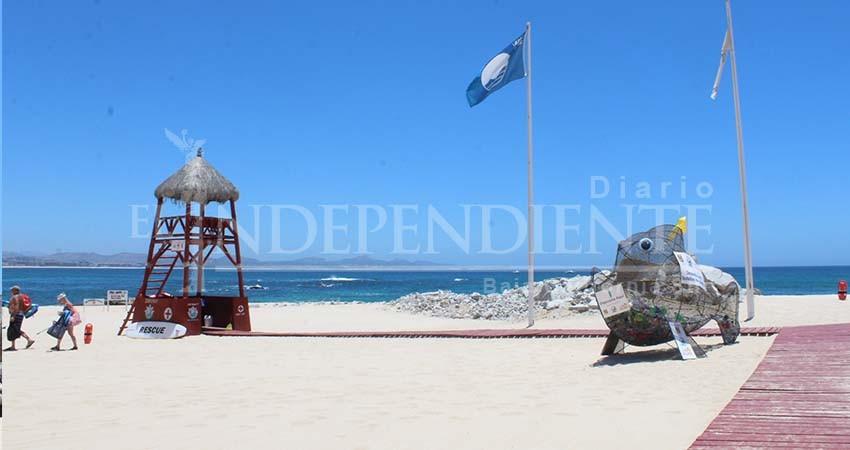 A finales de julio BCS refrendará sus 21 banderas azules