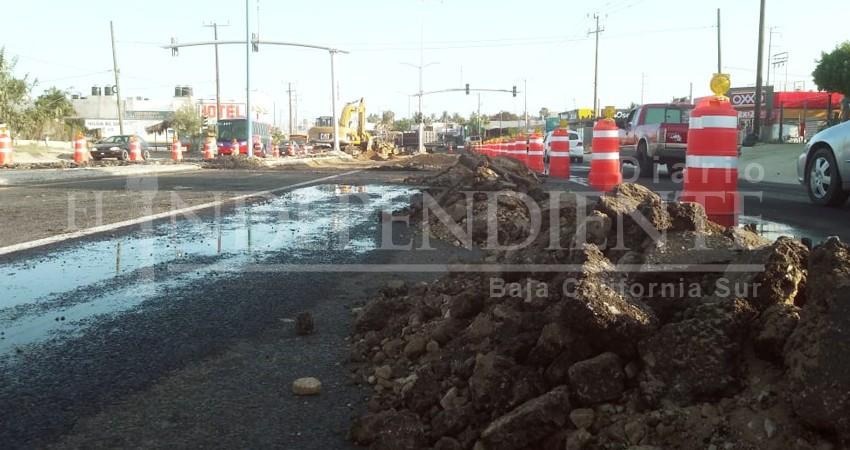 Pide PC tomar precauciones por obras que se efectúan en el vado de El Zacatal