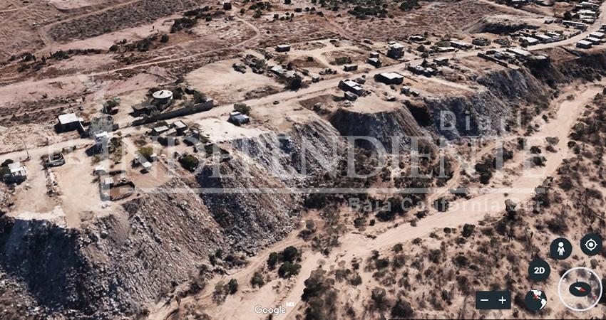 """Tiradero clandestino gana terreno en arroyo """"El Cajoncito"""" de La Paz"""