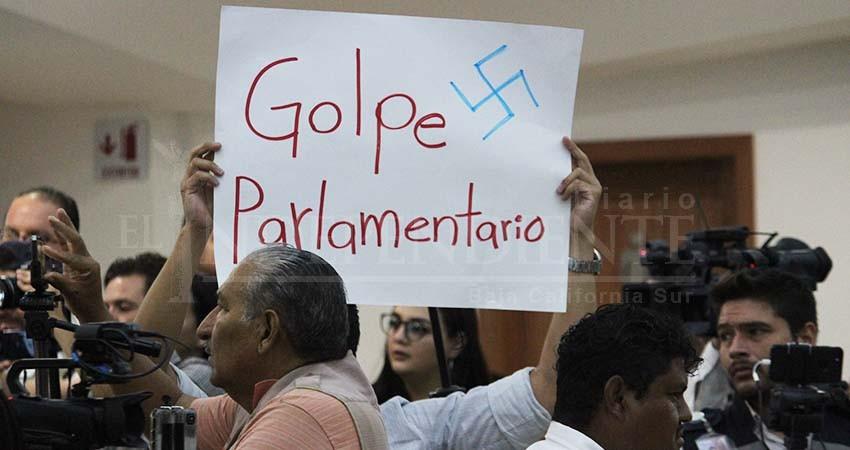 """Impugnarán ante SCJN """"golpe parlamentario"""" contra Morena"""