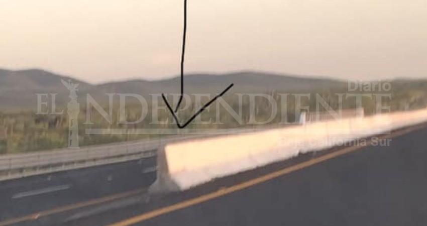 Malos señalamientos en carreteras ponen en peligro a los ciudadanos