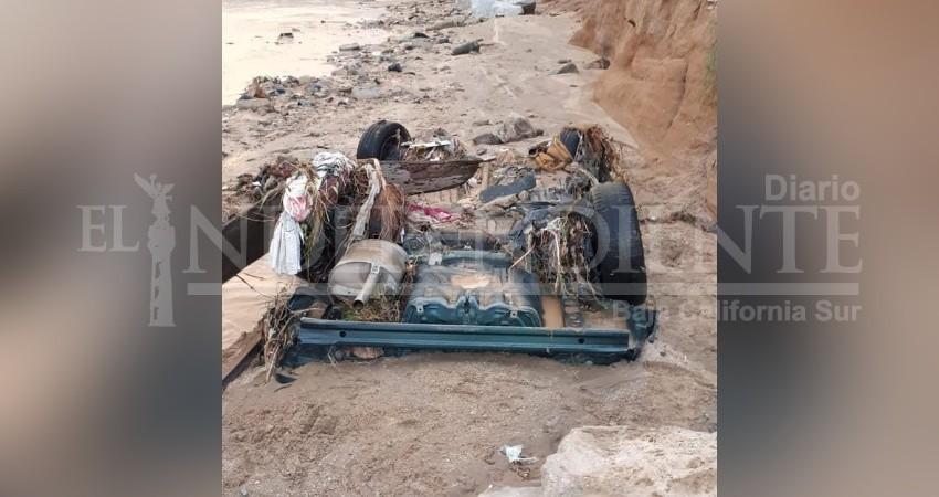 Un muerto y cuatro heridos, saldo de las fuertes lluvias en CSL
