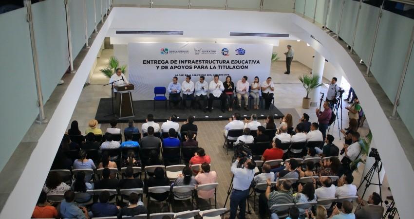 Fortalece UABCS su infraestructura con un nuevo Centro de Servicios Universitarios