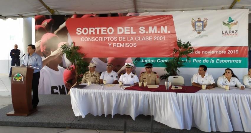 Jóvenes del servicio militar apoyarán con el plantado de arboles en La Paz