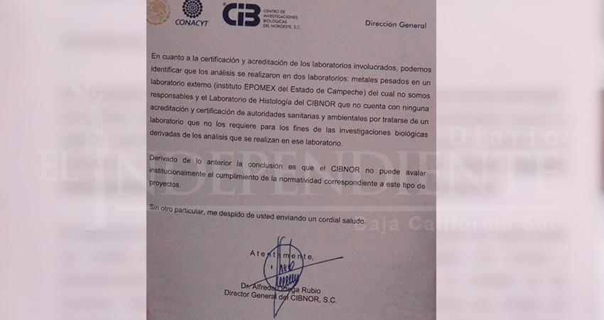 Cibnor desacredita estudio donde se detectó DDT en niños de Todos Santos