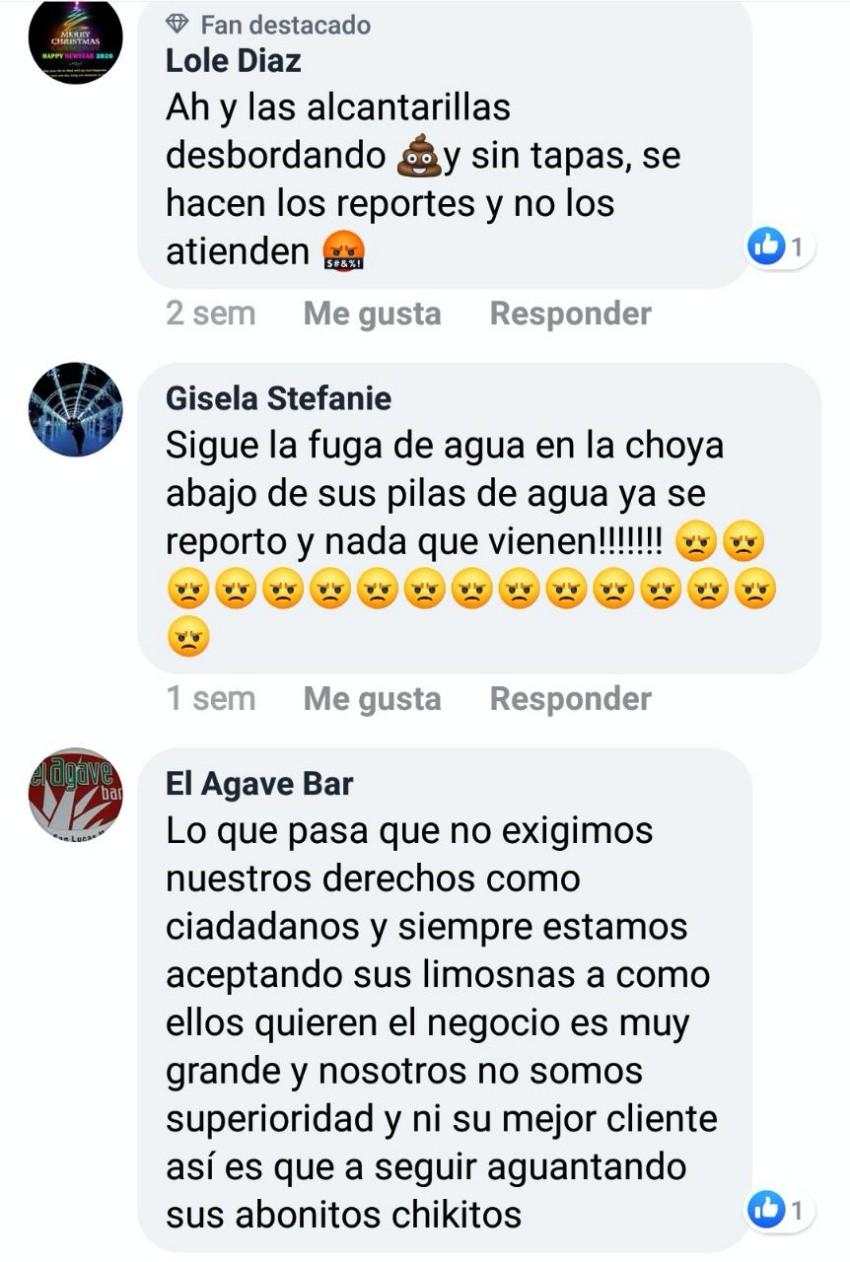Reclamos por desabasto de agua colman redes sociales de OOMSAPAS Los Cabos