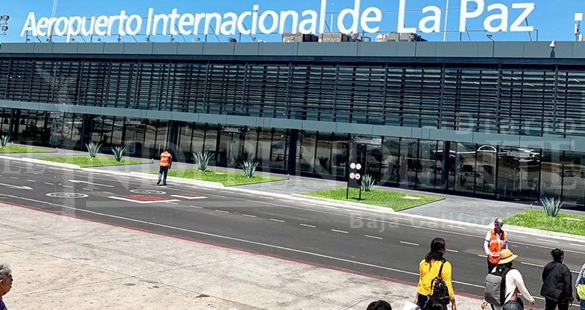 Vuelos en aeropuertos de BCS ser podrían normalizar hasta finales de abril
