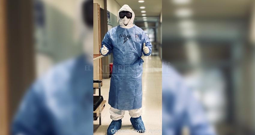 """""""Los coviteros"""": un enfermero sudcaliforniano describe cómo es su -nueva normalidad-"""