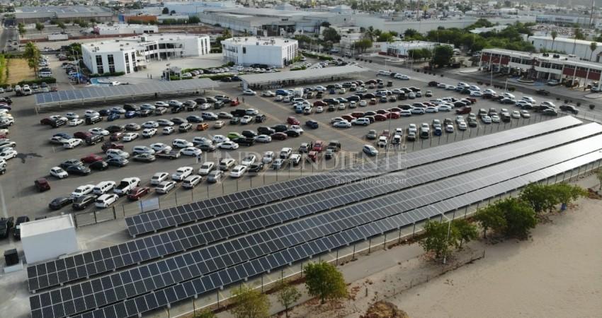 Nuevo parque solar traerá una economía de 3.5 mdp al año para el Ayto La Paz