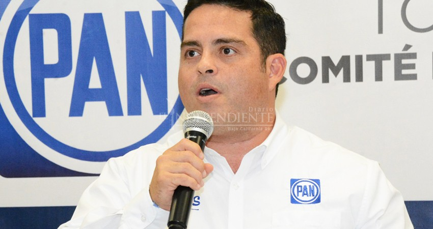 No necesita Pancho Pelayo permiso para expresar aspiraciones: PAN