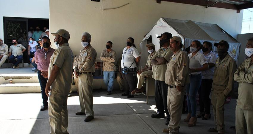 Reclama sindicato al OOMSAPAS mejorar condicionespara trabajadores