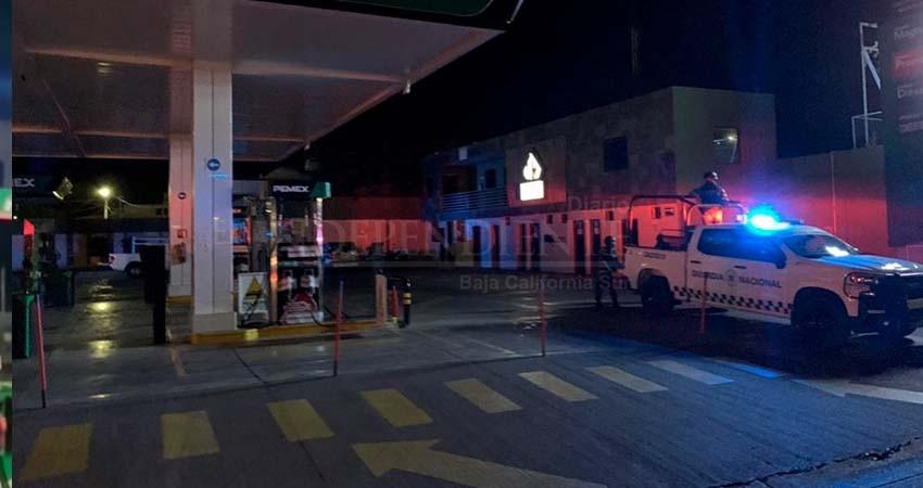 Ante ola de robos, cierran gasolineras durante la noche
