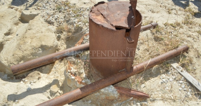 Hasta 100 litros por segundo produce pozo de agua clandestino en SJC