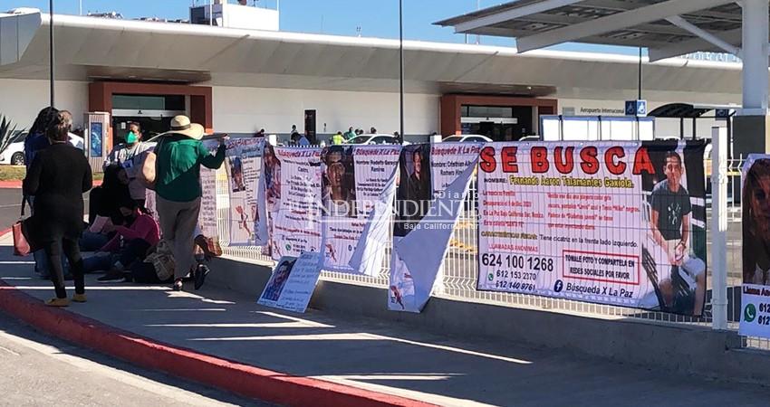 Familiares de desaparecidos en BCS exigieron apoyo al presidente de México