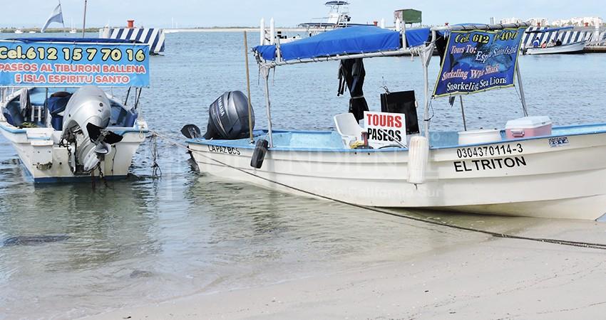 """""""No somos taxis acuáticos, somos el alma del turismo en La Paz"""": Prestadores de servicios"""