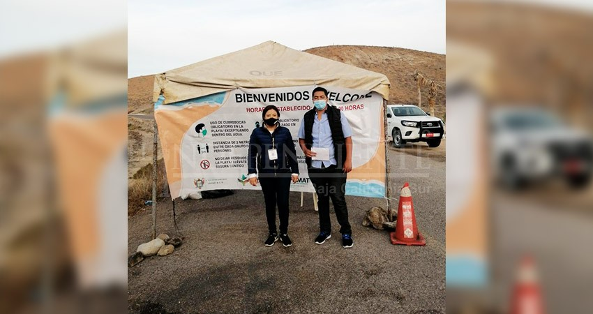 Instala Zofemat operativos en playas de La Paz durante Semana Santa