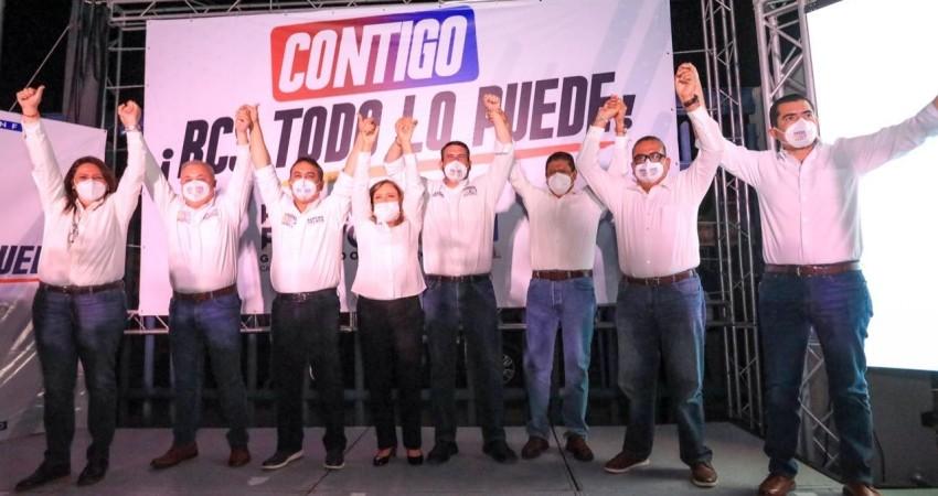 """Unidos, con la fuerza de todos ¡Vamos a ganar!"""": Pancho Pelayo"""