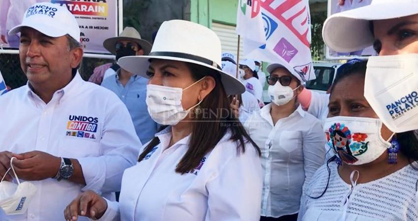 Vamos a mejorar la distribución de agua en los primeros 100 días de mi gobierno: Lupita Saldaña