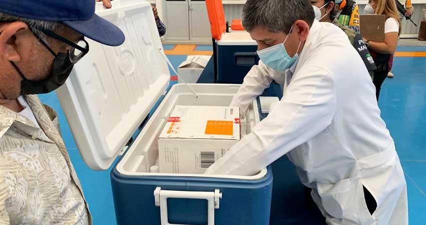 Envían a BCS casi 13 mil vacunas más contra COVID-19