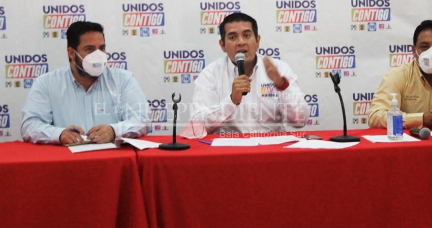 Víctor Castro sabe que está cayendo por su falta de responsabilidad: Unidos Contigo