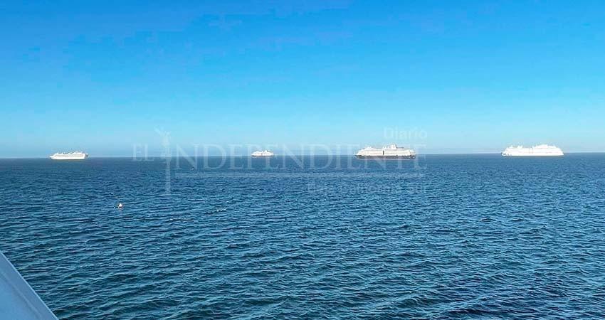 Cruceros de la bahía de La Paz, entre denuncias por contaminación y muertes por COVID