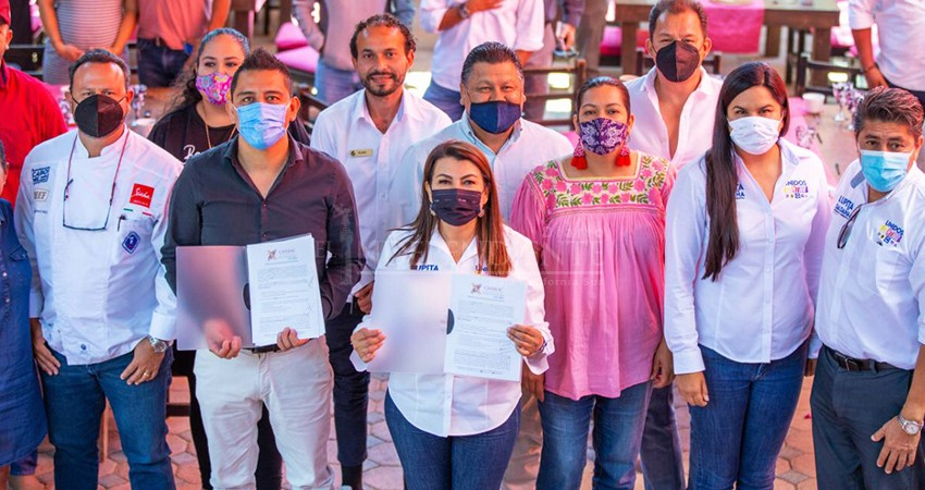 Lupita Saldaña apoyará la reactivación económica de Los Cabos