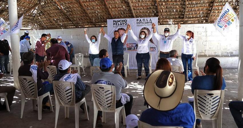 Apoyos a familias, internet y telemedicina, estarán presentes en las comunidades rurales: Pelayo