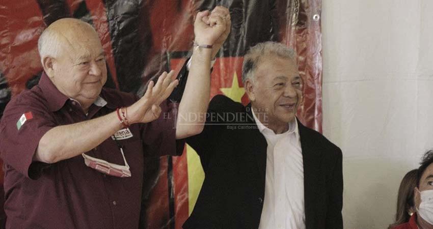 BCS quiere de vuelta los gobiernos de izquierda que hicieron tanto bien: Anaya Gutiérrez