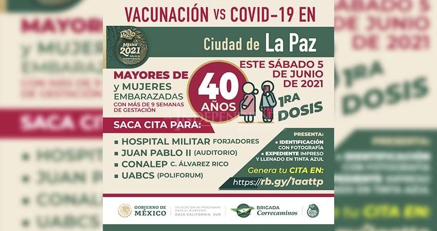Ha recibido Baja California Sur casi 317 mil vacunas contra COVID