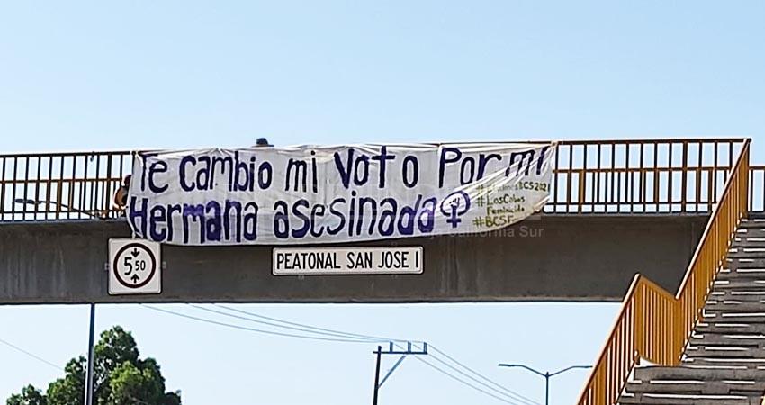 ¡No nos van a callar!, reclaman feministas que se manifestaron durante el proceso electoral
