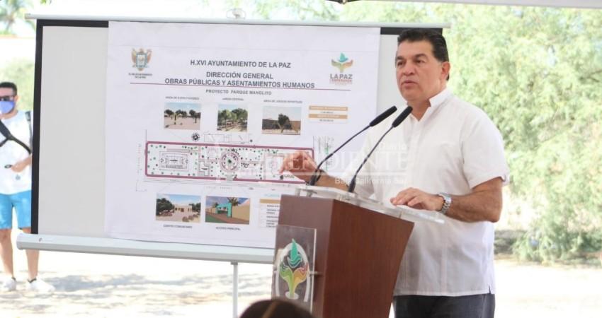 Tras un año de resistencia, El Manglito lo consigue: construirán parque en la calle Rangel