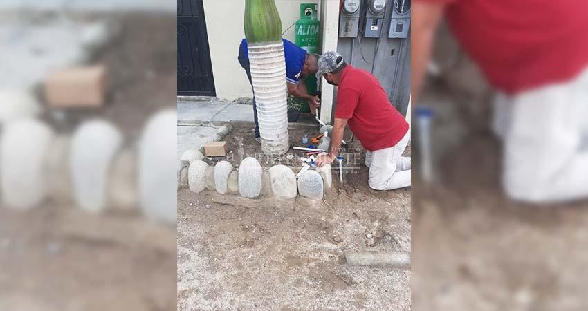 Avanza OOMSAPAS La Paz en trabajos de actualización de padrón en Todos Santos