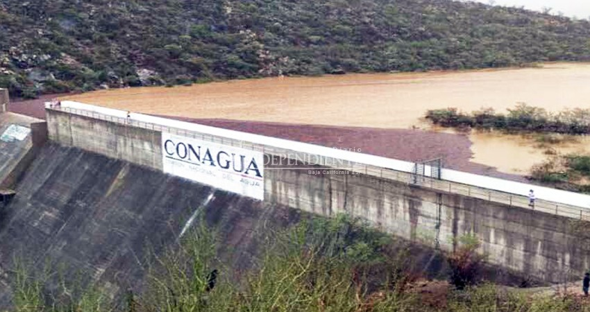 Invertirá Conagua 4.3 MDP en rehabilitar 3 presas de BCS