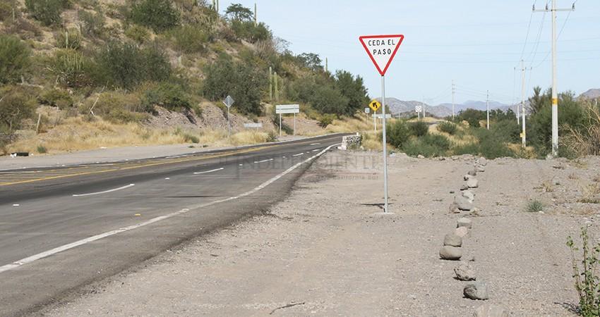 Castro Cosío buscará mejorar la infraestructura carretera de BCS durante su gestión