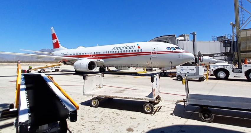 Aeropuerto de Los Cabos registra ocupación superior al 80% durante el fin de semana