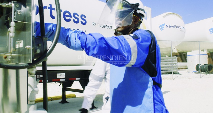 New Fortress Energy culmina su planta de gas natural en Pichilingue