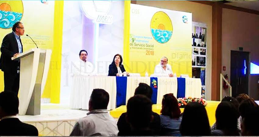 Invita UABCS a participar en congreso sobre servicio social y voluntariado