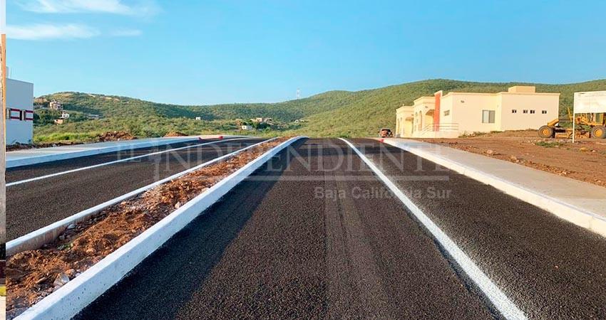 Concluye el Ayuntamiento de La Paz obras de pavimentación en Todos Santos